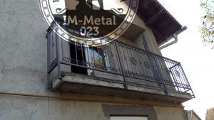 Kovana balkonska ograda